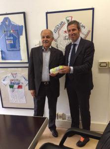 Nicolas Meletiou e Renato Di Rocco