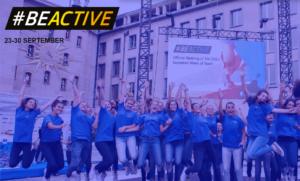 #BeActive Settimana Europea dello Sport
